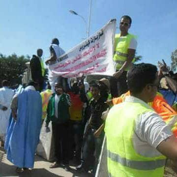 صورة العمال المفصولين عن طريق التعسف