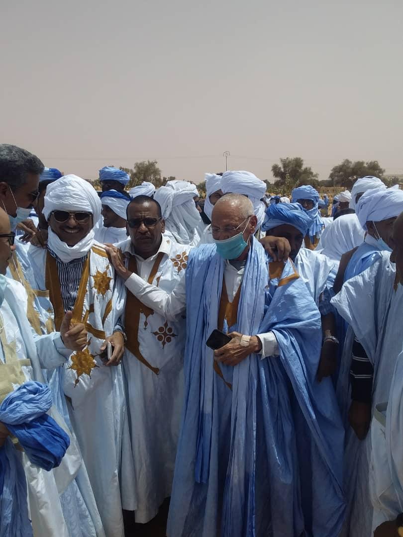 رجل الاعمال الكبير احمد سالم ولد بون مختار