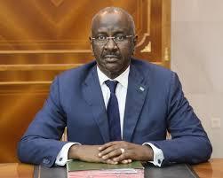 الدكتوراحمدسالم ولد مرزوق وزيرالداخلية الموريتاني